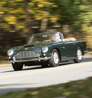 1965 Aston Martin DB5 décapotable